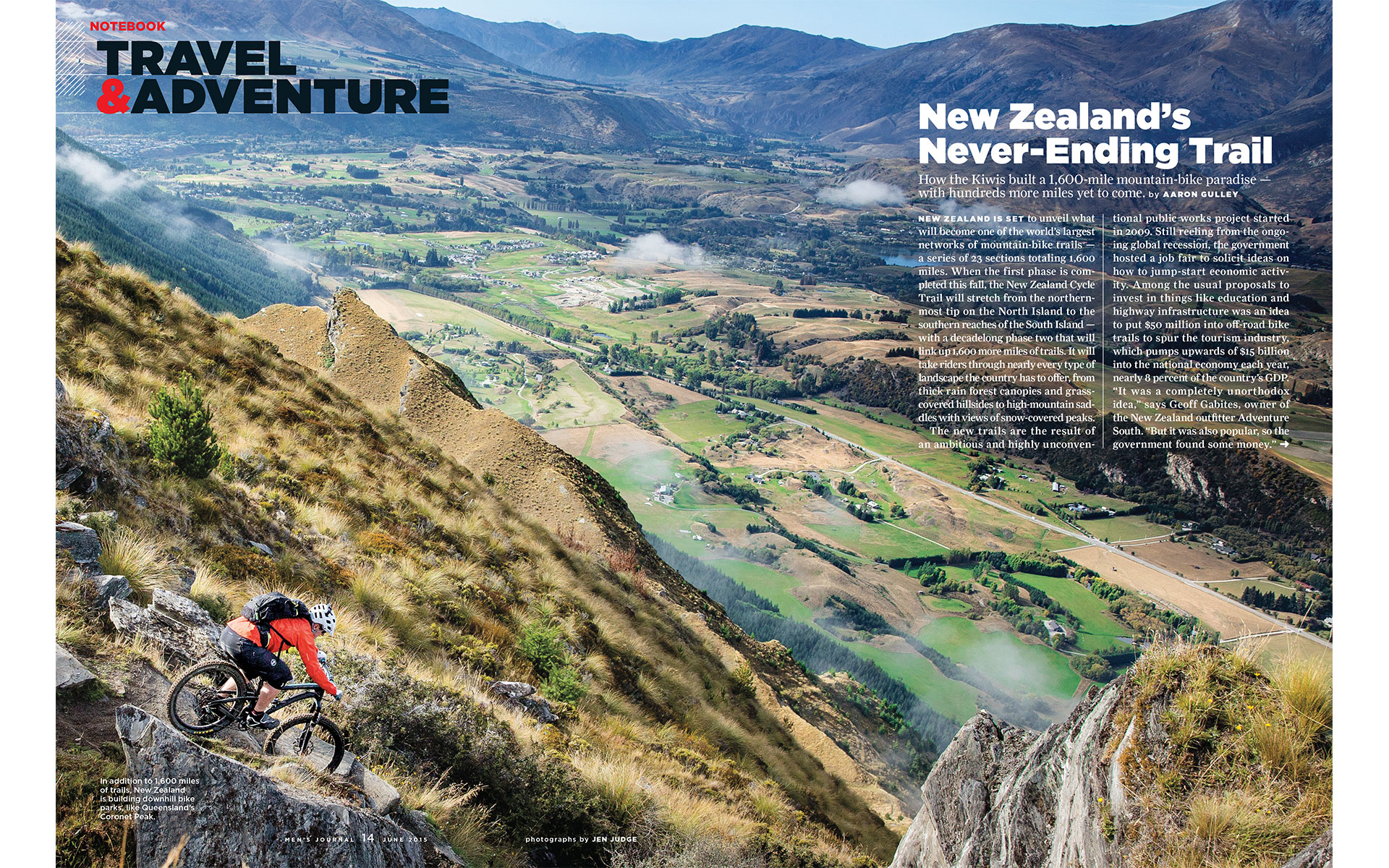 "<p style=""text-align: center;""><b><font color=""2a2871"">The Never-Ending Trail, Mens Journal, June 2015</font></b>