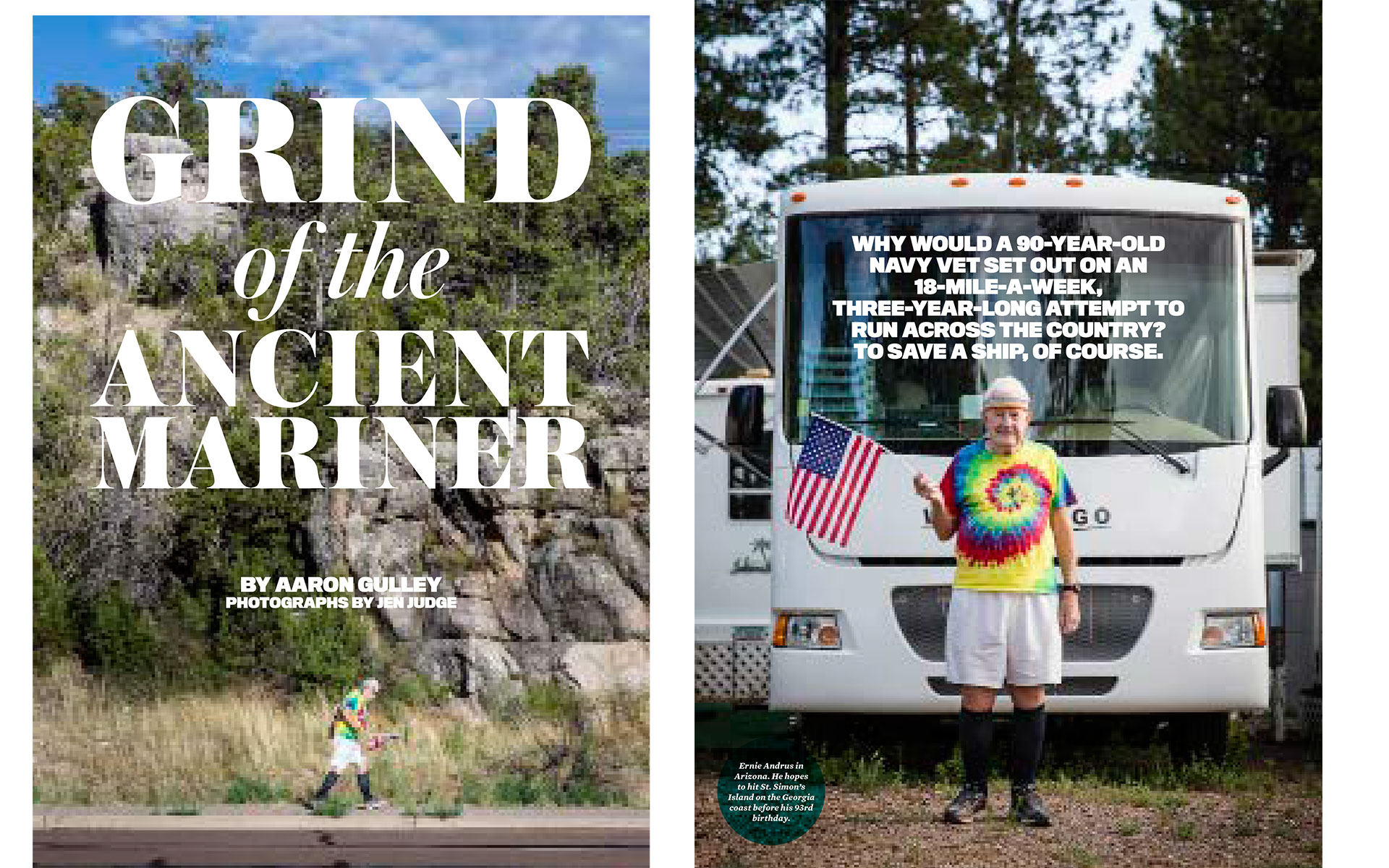 "<p style=""text-align: center;""><b><font color=""2a2871"">Grind Of The Ancient Mariner, Runners World, March 2015</font></b>