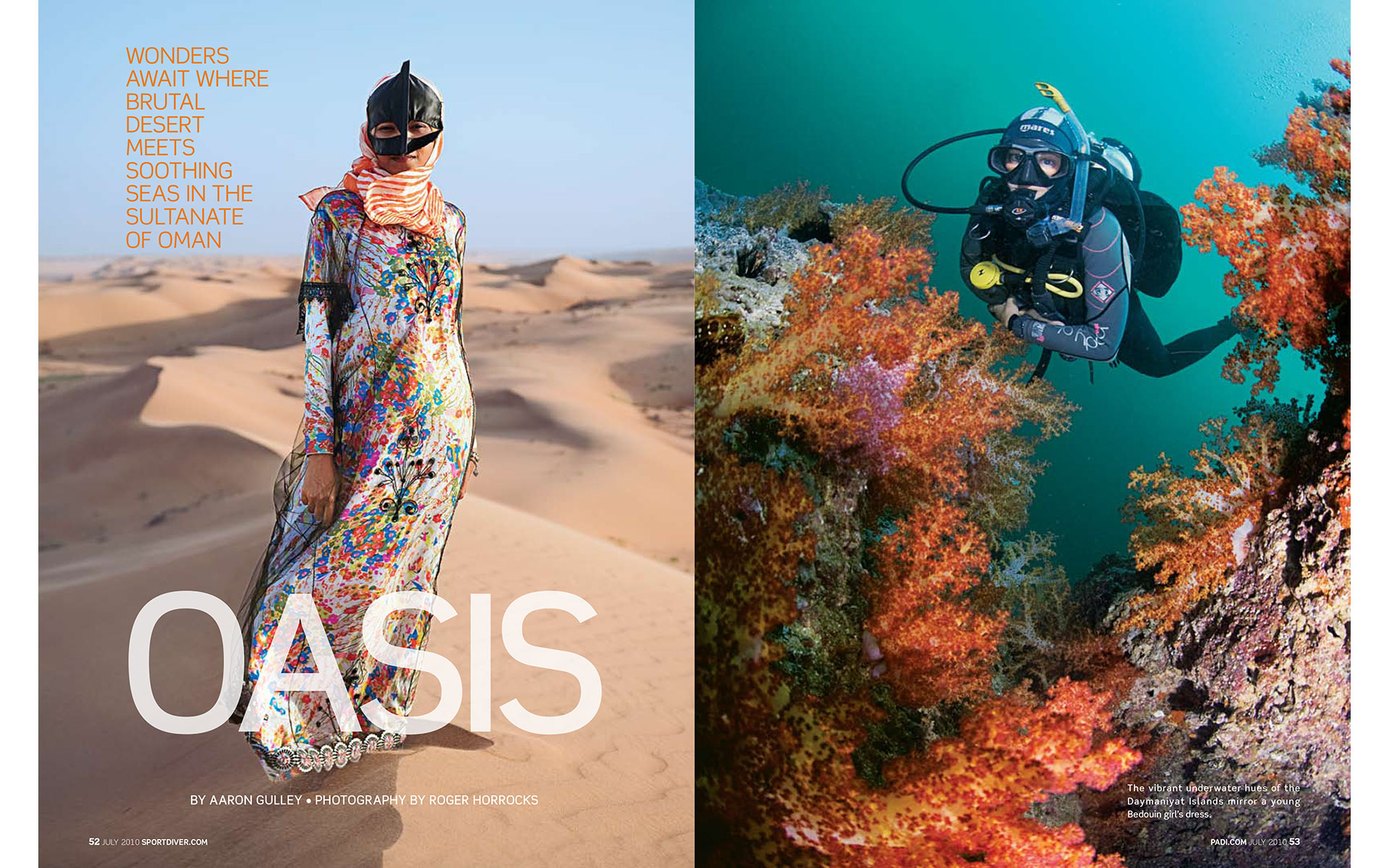 "<p style=""text-align: center;""><b><font color=""2a2871"">Oasis, Sport Diver, July 10</font></b>